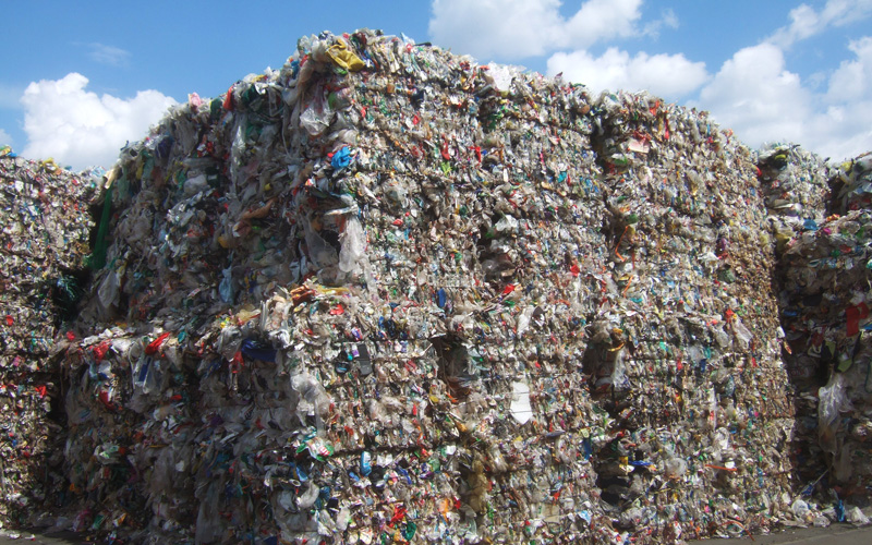 Global plastic waste management market with slowdown, but positive ...