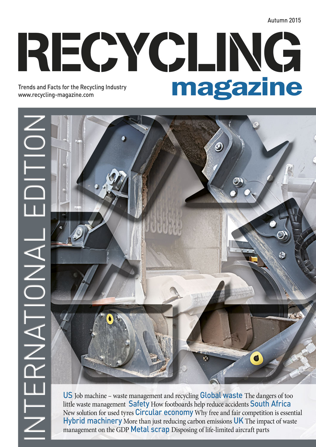 Recycling magazine 08 2015 recycling magazine for How to recycle old magazines