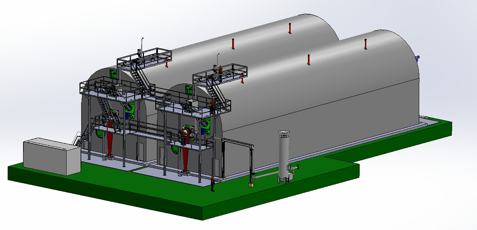 Biogas plant for the world's largest city - RECYCLING magazine