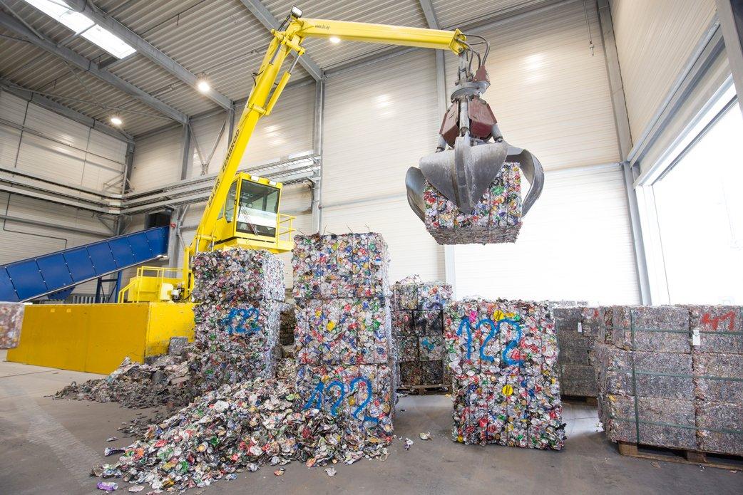 UBC recycling - Hydro,Neuss - Photo: Hydro/Michael Rennertz